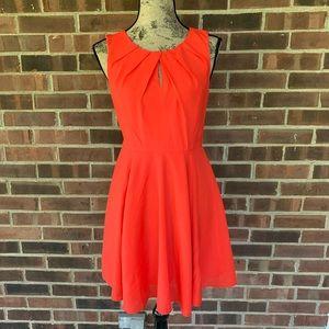 NWT Express red sleeveless dress